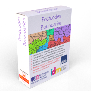 Postcode Boundary UK Data Table File